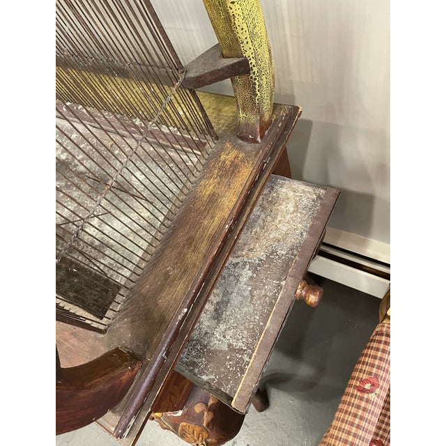 19th Century Vintage Three Piece Bird Cage For Sale - Image 10 of 11