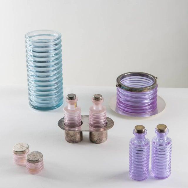 """Italian """"Onda"""" Glass Set by Sergio Asti for Arnolfo di Cambio For Sale - Image 3 of 10"""