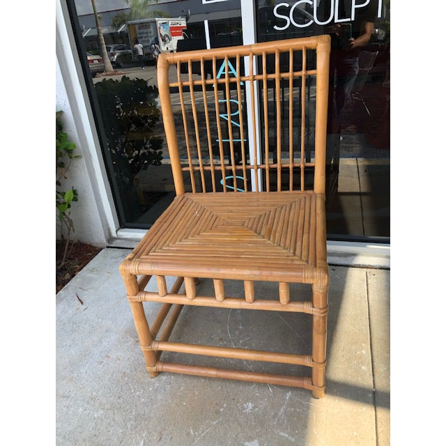 1980s 1980s Vintage Retro Boho Chic Accent Chair For Sale - Image 5 of 11