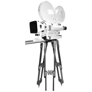Ex Military Navy Mitchell Mid-Century Motion Picture Camera. Display As Sculpture For Sale