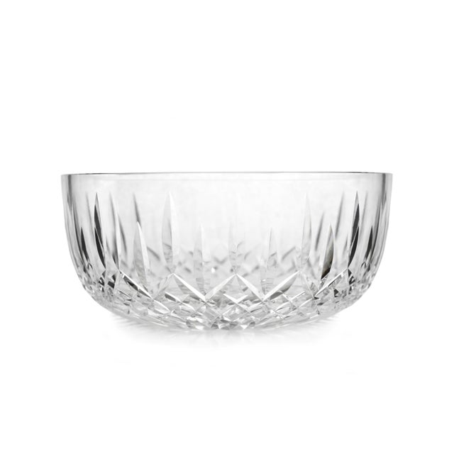 Late 20th Century Vintage Round Bowl Araglin Pattern Cut by Waterford Crystal For Sale - Image 5 of 5