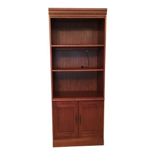 Hooker Furniture Modern Wooden Bookcase For Sale
