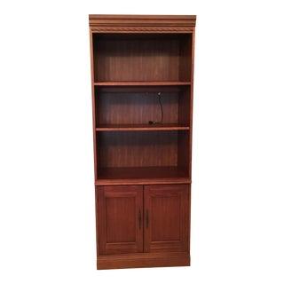 Hooker Furniture Modern Wooden Bookcase For Sale