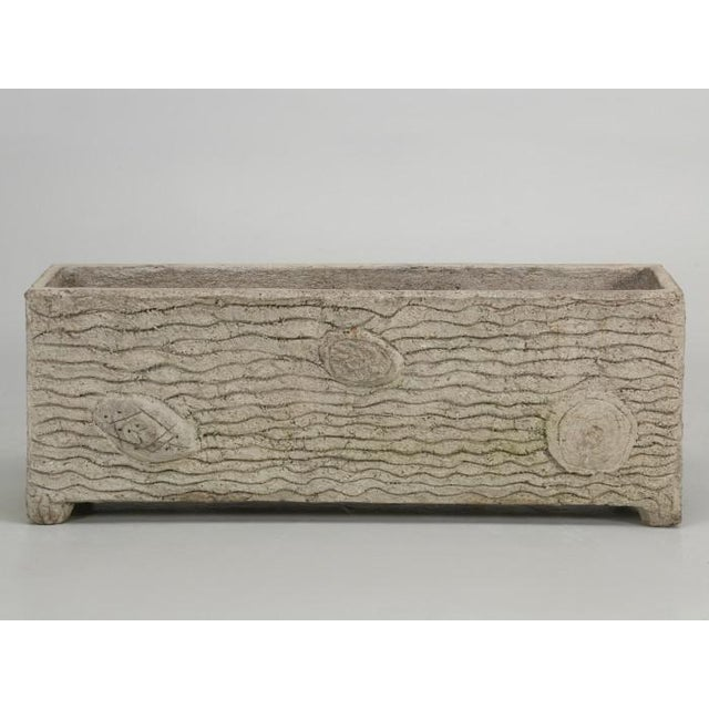 French Faux Bois Garden Trough or Planter For Sale In Chicago - Image 6 of 12
