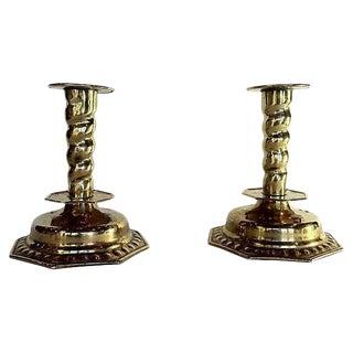 Gustavian Style Candlesticks - A Pair