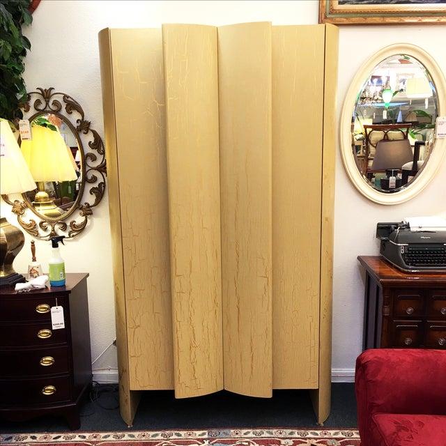 Custom Art Deco Gold & Ivory Bar or Display - Image 2 of 10