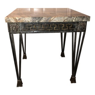 Theodore Alexander Marble End Table