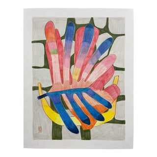 """""""Cockscomb"""" Drawing For Sale"""