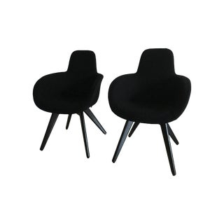 Tom Dixon Scoop High Back Chairs - Pair