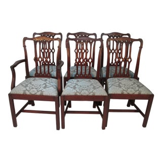 1930s Vintage Atwill Furniture Dining Chairs- Set of 6 For Sale