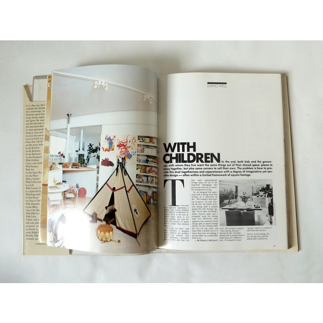 1981 Vintage New York Times Living Well Coffee Table Book - Image 4 of 5