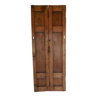 Spanish Colonial Pair of Doors or Screen For Sale