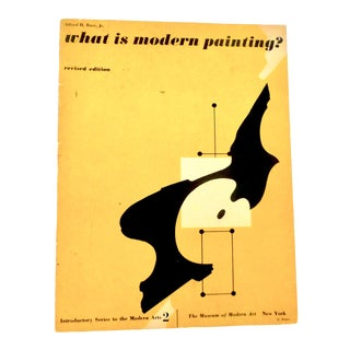 1966 Vintage What Is Modern Painting? Museum of Modern Art, the 1960's Book For Sale