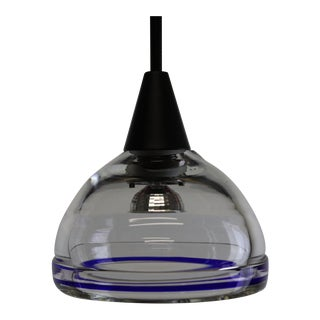 Paolo Crepax Mid-Century Modern Murano Pendant Lamp For Sale