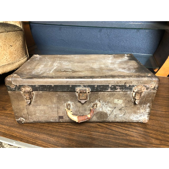 Vintage Well-Worn Wearever Salesman Sample Suitcase For Sale - Image 11 of 11