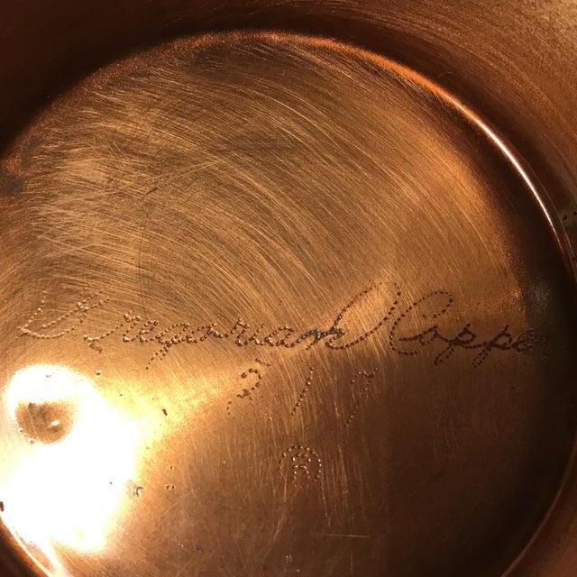 Gregorian Copper Table Centerpiece - Image 5 of 11