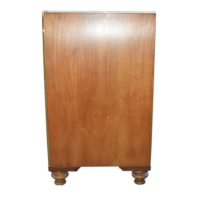 Baker Furniture Company 1960s Chinoiserie Light Wood Dresser By Baker Furniture For Sale - Image 4 of 6