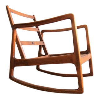 Ole Wanscher Teak Rocking Chair