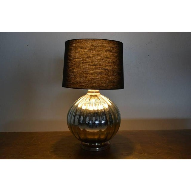 Mexican Modernist Mercury Table Lamp #2 For Sale - Image 4 of 5