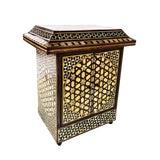 Image of Antique Moorish Jewelry Box For Sale