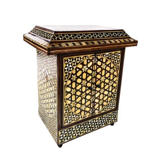 Antique Syrian Jewelry Box For Sale