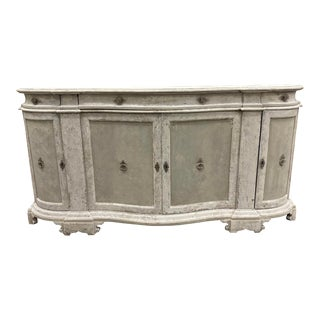 Italian Tuscan Painted Sideboard Buffet - Early 20th C For Sale