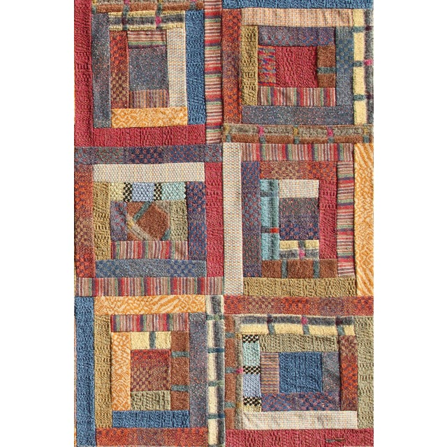 "Missoni Missoni ""No. 2 - Squares"" Wool Tapestry For Sale - Image 4 of 4"