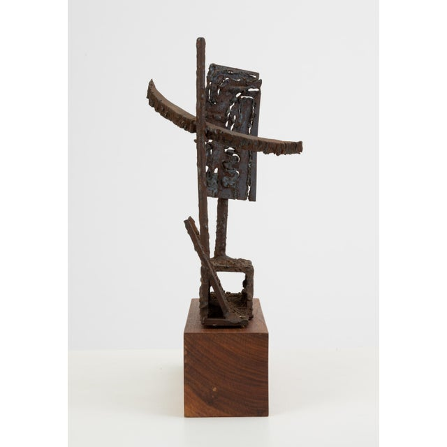 Mounted Brutalist Figurine For Sale In Los Angeles - Image 6 of 11