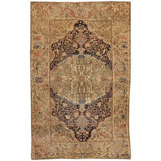Exceptional Mid-19th Century Persian Sarouk Carpet For Sale