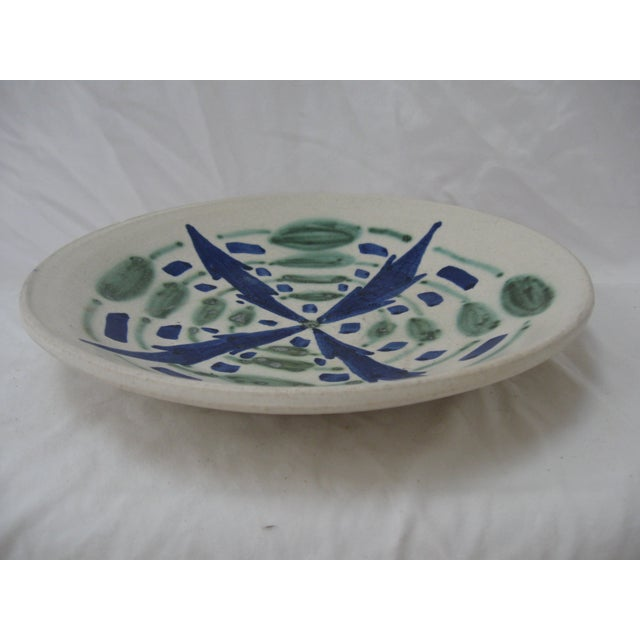 Blue & Green Studio Pottery Catchall - Image 4 of 4