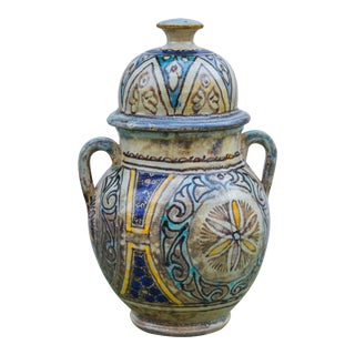 Antique Moorish Vase For Sale