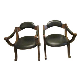 1960s Vintage Drexel Heritage Esperanto Party Chairs- A Pair For Sale