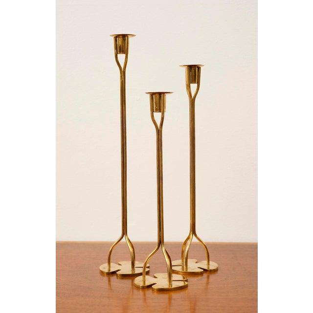 1950s Josef Frank Candlesticks - Set of 3 For Sale - Image 12 of 12