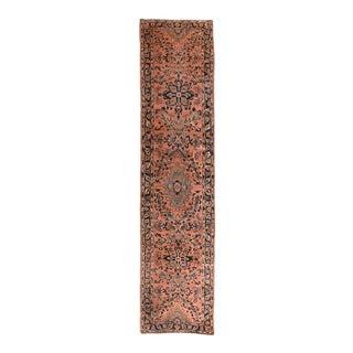 Fine Antique Persian Sarouk Runner For Sale