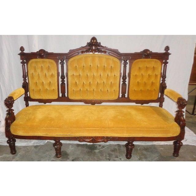Edwardian Sofa For Sale - Image 4 of 4