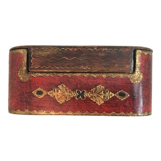 19th Century Louis XIV Wooden Poker Chip/Card Box For Sale