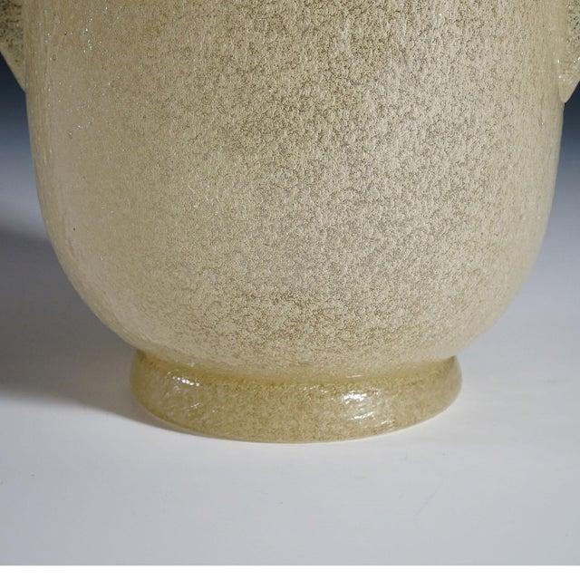 Carlo Scarpa 'A Bollicine' Glass Vase for Venini Ca. 1932 For Sale - Image 9 of 10