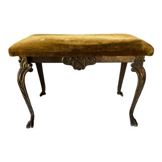 1920's W. H. Howell Co. Cast Iron Bench For Sale