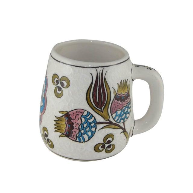 Mug Handpainted Ethnic From IznikFlower Coffee qUMLSpGVjz
