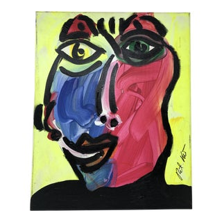"Peter Keil ""Face"" Contemporary Painting For Sale"