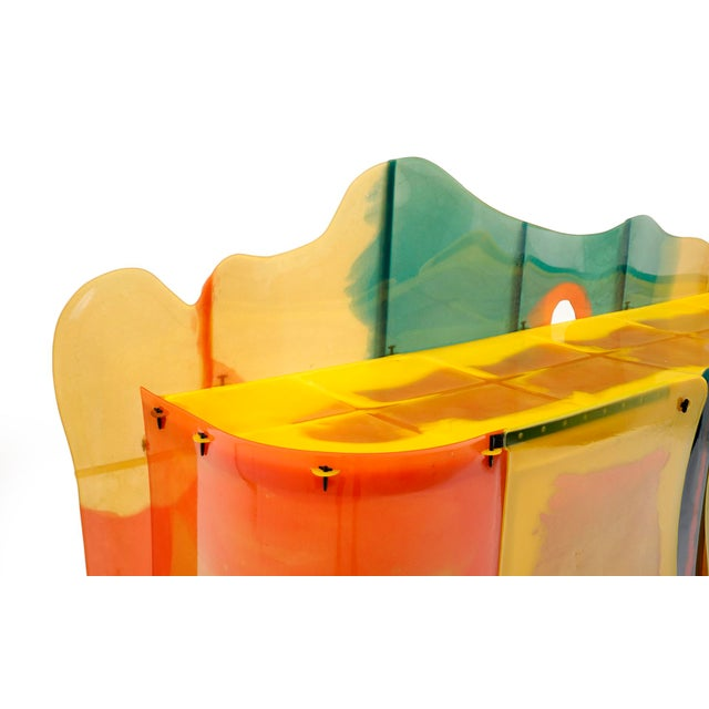 "Gaetano Pesce Gaetano Pesce ""Nobody's Perfect"" Multi-Color Resin Sideboard For Sale - Image 4 of 13"