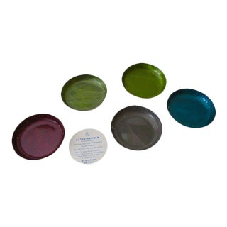 Cathrineholm Enamel Coasters - Set of 5