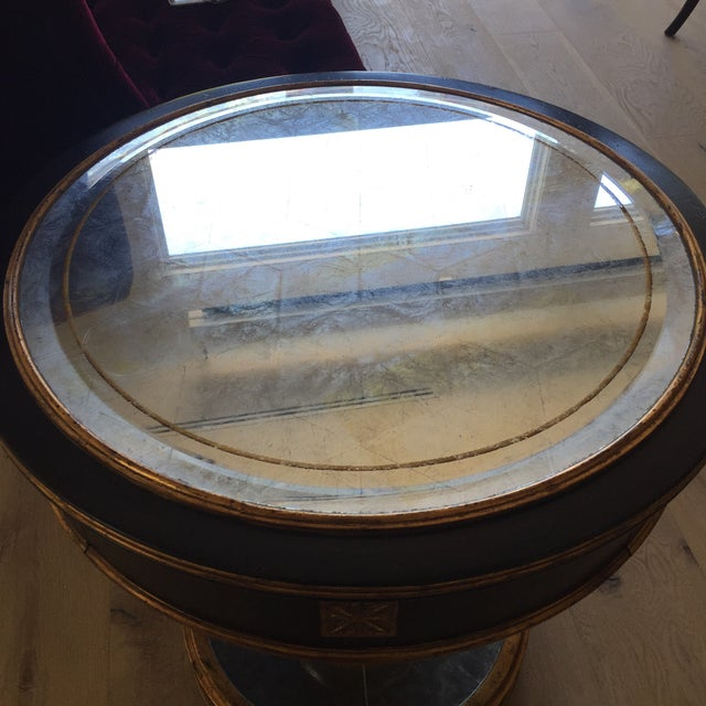 Mid Century Modern- Smoke Mirrored End Table. Century Furniture Brand For Sale In San Francisco - Image 6 of 13