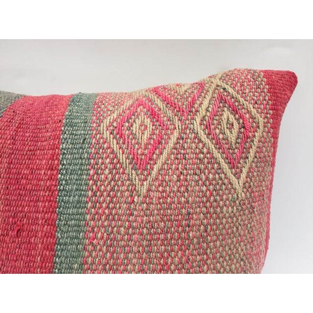 White Moroccan Pastel Colors Bohemian Throw Pillows For Sale - Image 8 of 13