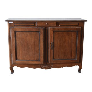 18th Century Antique French Provincial Oak Buffet For Sale