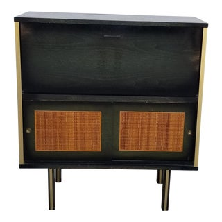 James-Philip 1960's Illuminated Bar Cabinet For Sale