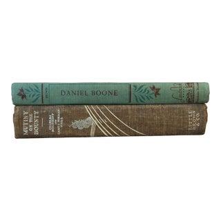 Vintage Decorative Classic Novels - A Pair For Sale