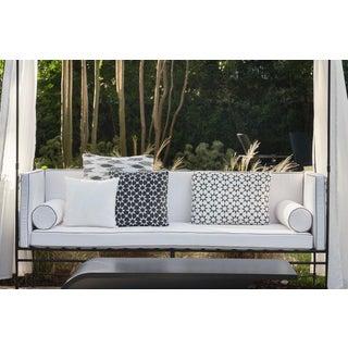 Set of 5 Perennials Fabric Custom Outdoor Toss Pillows Including Inserts