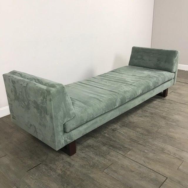 Room & Board Suede Studio Sofa - Image 7 of 9