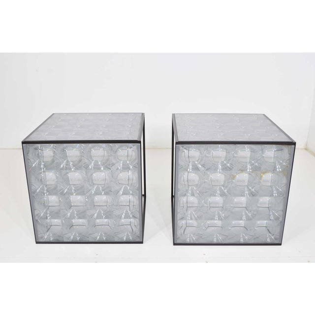 2000 - 2009 Lens Side Tables by Patricia Urquiola for B & B Italia - a Pair For Sale - Image 5 of 9